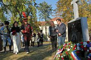 Slavnostního odhalení se zúčastnili i potomci francouzského vojevůdce.