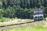 Dopravu o víkendech a svátcích bude na jemnické dráze zajišťovat společností Railway Capital, která na trať nasadí osvědčený motorový vůz řady 810.