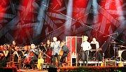 Koncert Miro Žbirka Symphonic v Jaroměřicích nad Rokytnou.
