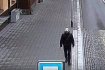 Muž na kamerovém záznamu
