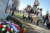 Jaroměřice nad Rokytnou vzdaly hold obětem napoleonských válek.