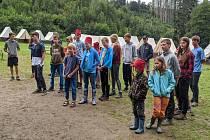 Tábor na řece Oslavě