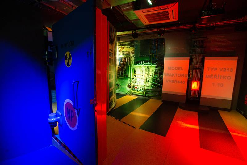 Infocentrum jaderné elektrárny Dukovany.