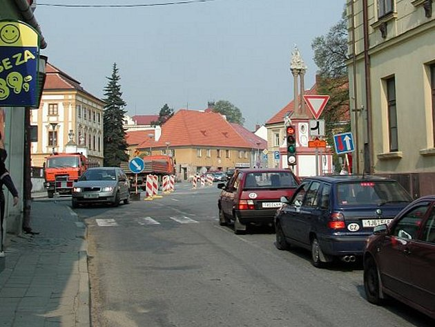 Lidem v Jaroměřicích se nelíbí hustá doprava.
