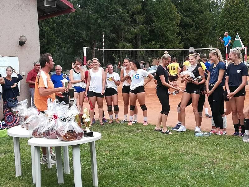 Volejbalový turnaj v Bezděkově
