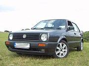 Třebíčský Volkswagen Golf MKII.