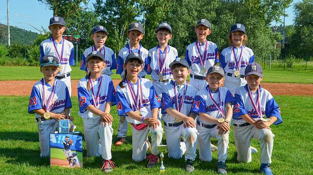Malí baseballisté Třebíče ovládli dovednostní soutěže na FirstCupu