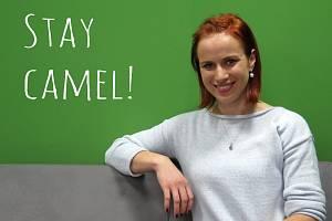 Pavlína Havlenová se svým originálním heslem Stay Camel!