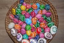 Velikonoční kraslice od paní Pavlíny Bartíkové