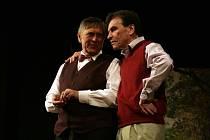 Petr Kostka a František Němec. A padesát let očekávaná láska v podání Aleny Vránové. To byl Ledňáček.