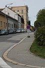 Uzavírka v Třebíči a její dopady. Sušilova ulice nad kolejemi.