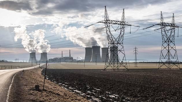 Jaderná elektrárna Dukovany. Ilustrační foto.