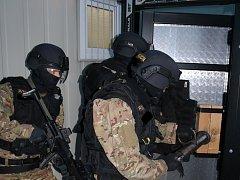 Nové vybavení speciální jednotky z Dukovan.