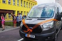 Nová dodávka pro klienty s handicapem slouží v Třebíči a okolí.