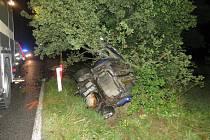 Tragicky skončil víkend pro osmnáctiletého řidiče na Třebíčsku.