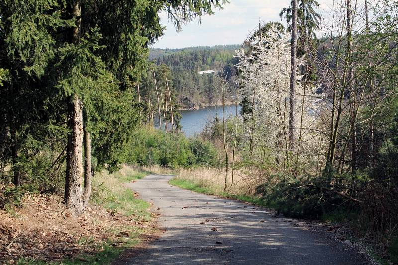 Podél Dalešické přehrady vede nová zelená turistická značka. Turisty zavede přímo k vodě, na místa s poutavými výhledy.