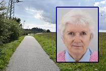 Místo, kde se pohřešovaná Marie Spilková z Třebíče často pohybovala.