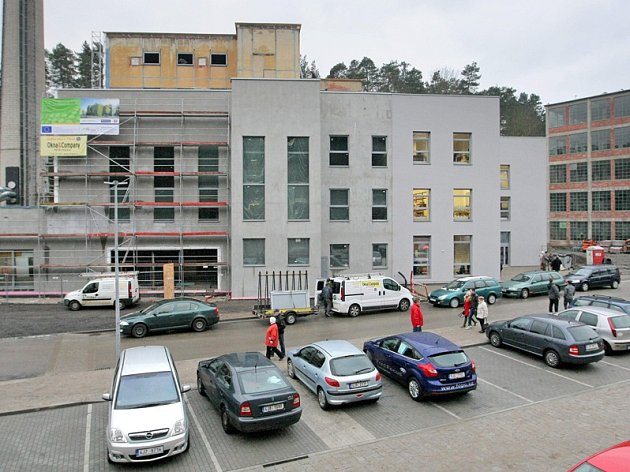 Nový dům dětí v Borovině.