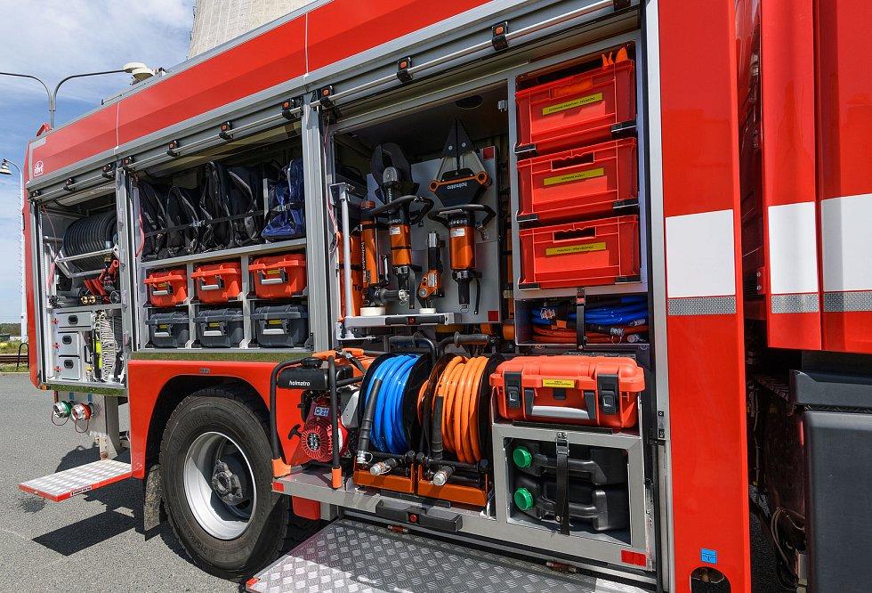 Dukovanští hasiči zasahují v okolí elektrárny průměrně čtyřicetkrát za rok.