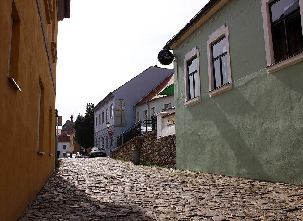 Židovská čtvrť v Třebíči.