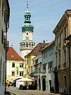 Město Šoproň s nádherným historickým centrem leží nedaleko maďarsko-rakouských hranic.
