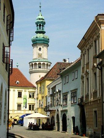 Město Šoproň snádherným historickým centrem leží nedaleko maďarsko-rakouských hranic.