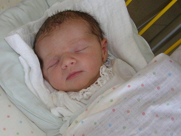 Šarlota Suchánková, Moravské Budějovice, 22. května 2014, 3250 g, 49 cm.