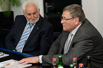 Oba hejtmani podpořili rozvoj Dukovan.