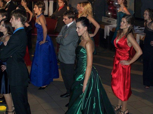 STUŽKOVÁNÍ. Stužkovací ples třídy 4.C Gymnázia Třebíč.