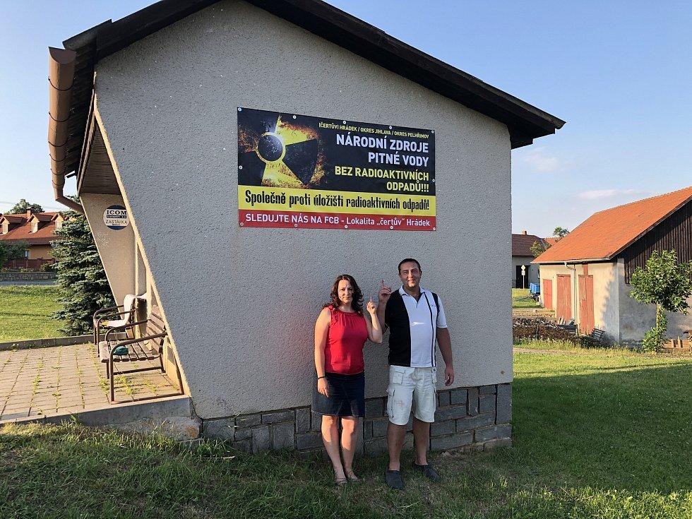 Bannery se objevují v mnoha obcích na Jihlavsku.