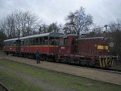Vánoční vlak.