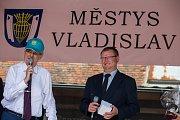 Prezidentská návštěva ve Vladislavi