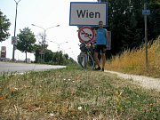 Cesta přes Vídeň.