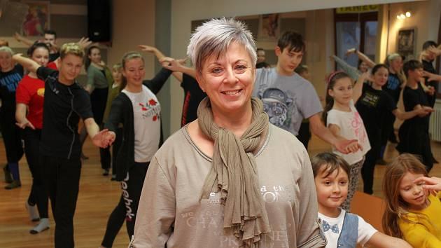 Jana Fenčáková ve svém tanečním studiu.