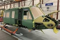 Výroba prvního vrtulníku Venom pro Českou republiku. Sestavují jej v dílnách Crestview Aerospace na Floridě.