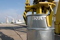 Energetici v rámci cvičení vyzkouší jak reagovat v případě požáru v otevřené jímce radioaktivních odpadů se zahořením obalových souborů.