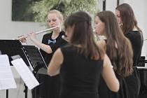 Koncert dechového oddělení Základní umělecké školy v Třebíči