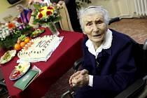 Paní Růžena Malá oslavila úctyhodné 101. narozeniny.