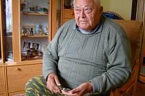 Václav Melichar z Trnavy byl jedním z mnoha dobrovolníků, kteří před 40 lety v obci postavili kulturní dům.