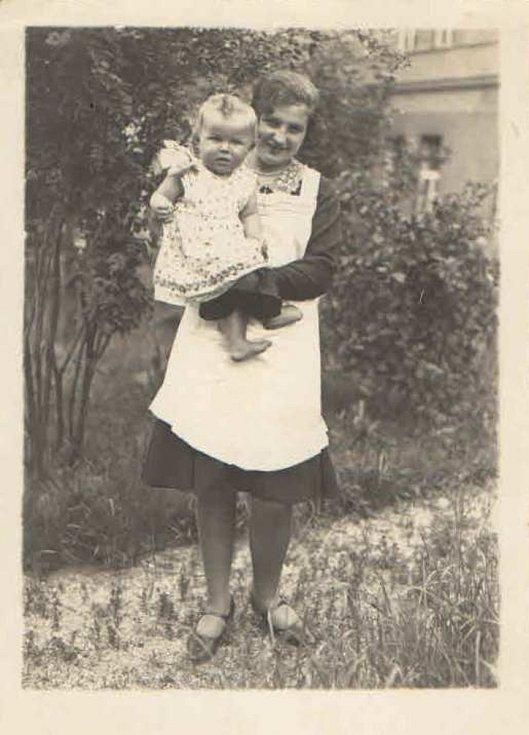 Ludmila Soukupová s dcerou Ludmilou.