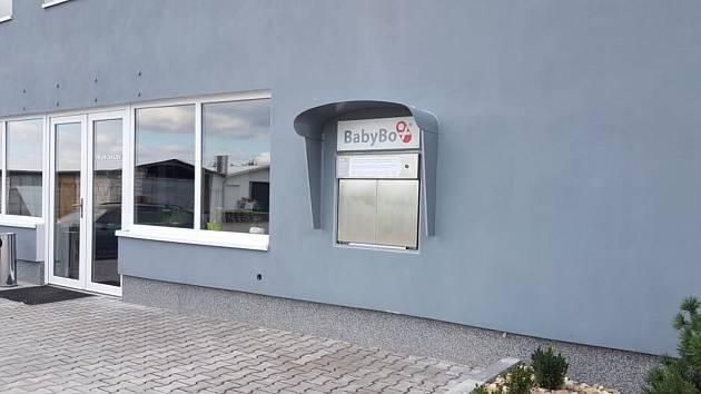 Babybox ve výrobním areálu ve Vícenicích u Náměště nad Oslavou