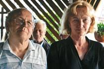 Čestný občan polského Reszelu Stanislav Brada z Jemnice a od pátku čestná občanka Jemnice Danuta Konopnická z Reszelu.
