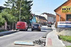 Uzavírka Táborské ulice skončí do konce srpna.