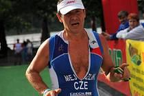 Třebíčský triatlonista Petr Mejzlík.