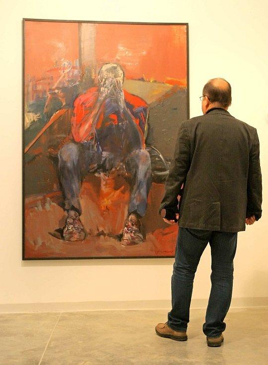 Galerie Franta vznikla v dosud nevyužívané části Národního domu na Karlově náměstí.
