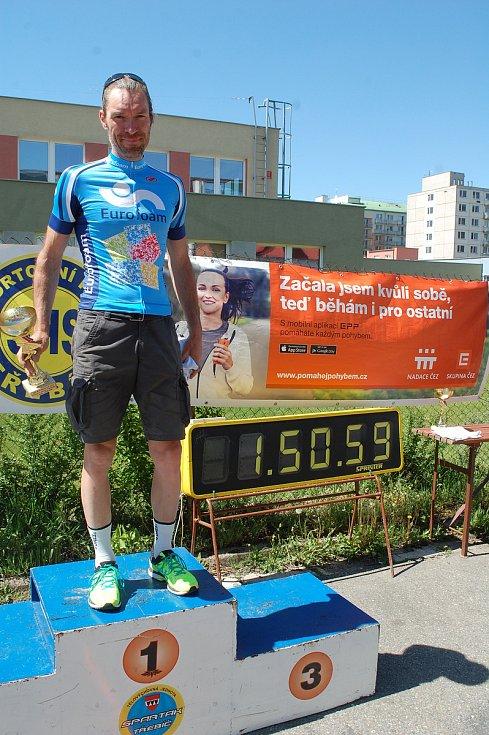 Závod horských kol ČEZ MTB Maraton.