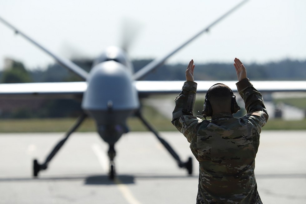 Bezpilotní letoun MQ-9 Reaper.