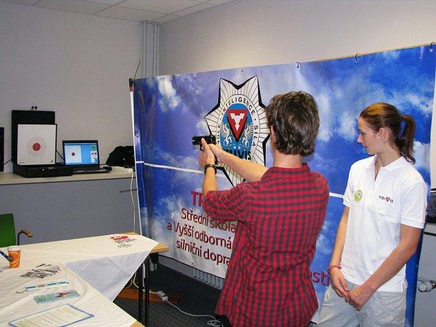 Veletrh vzdělávání Didacta 2015 ve Střední průmyslové škole Třebíč.