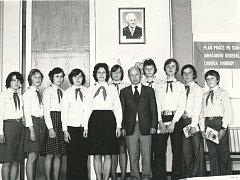 Pionýři. Dne 24. dubna 1979 Rudíkovští oslavili 30 let od založení pionýrské organizace.