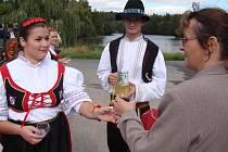 Lidé z Náramče oslavili dožínky.